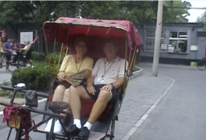 You have to have one Rickshaw Ride.